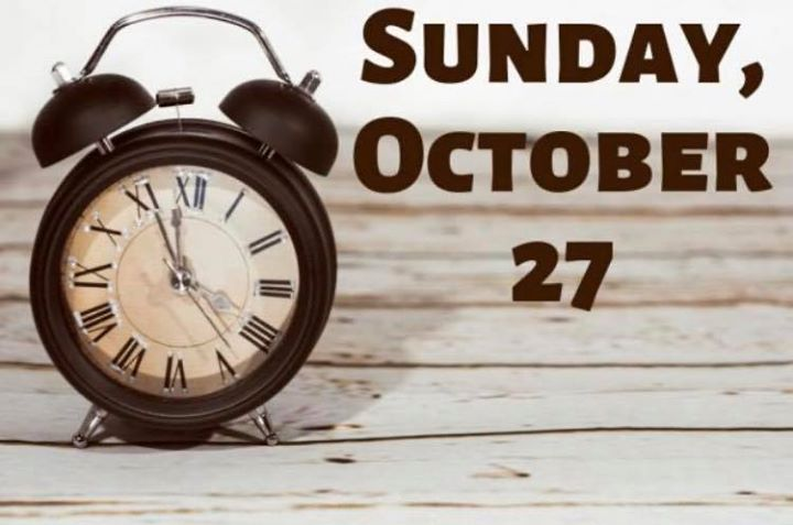 The clocks go back at 2.00am on Sunday the  27th of  October 2019 – for future reference, it always takes place on the last Sunday in October. This signals the end of BST, or Daylight Saving Time (DST) and means the UK will revert to Greenwich Mean Time (GMT), the standard time zone against which all others in the world are referenced #FallBack